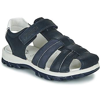鞋子 男孩 涼鞋 Primigi  海藍色