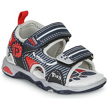 鞋子 男孩 凉鞋 Primigi 5450544 海蓝色 / 红色