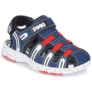 鞋子 男孩 运动凉鞋 Primigi 5461611 海蓝色 / 红色