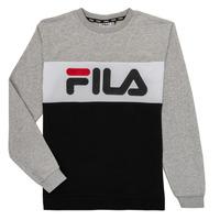 衣服 儿童 卫衣 Fila FLORE 灰色 / 黑色