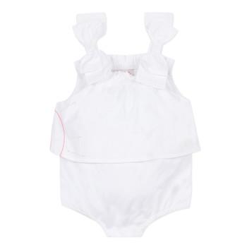 衣服 女孩 连体衣/连体裤 Lili Gaufrette NOLENI 白色