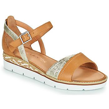 鞋子 女士 凉鞋 KARSTON KILGUM 棕色 / 银灰色