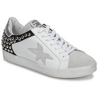 鞋子 女士 球鞋基本款 Meline GELLABELLE 白色 / 黑色