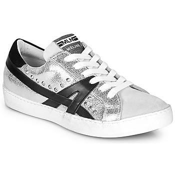 鞋子 女士 球鞋基本款 Meline GELOBELO 银灰色
