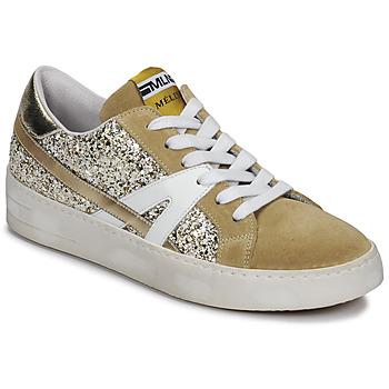 鞋子 女士 球鞋基本款 Meline GERIE 金色