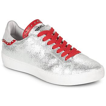 鞋子 女士 球鞋基本款 Meline GARILOU 银灰色 / 红色