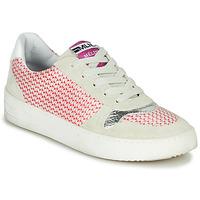 鞋子 女士 球鞋基本款 Meline GUILI 米色 / 红色