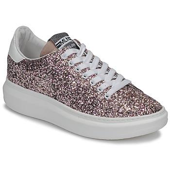 鞋子 女士 球鞋基本款 Meline GEYSI 金色 / 玫瑰色