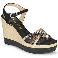 鞋子 女士 凉鞋 Unisa MIRELLA 黑色
