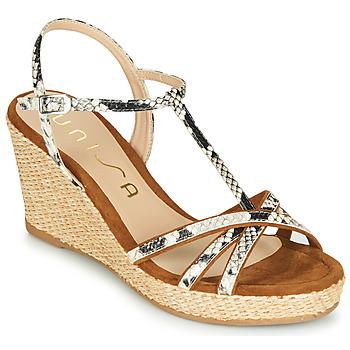 鞋子 女士 凉鞋 Unisa LLINAR Python