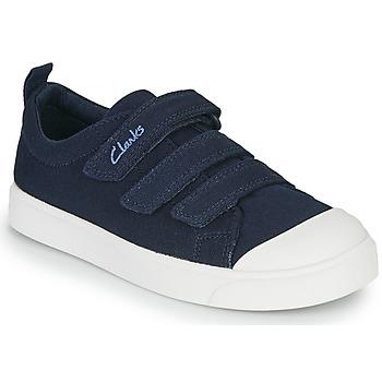 鞋子 儿童 球鞋基本款 Clarks 其乐 CITY VIBE K 海蓝色