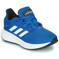 鞋子 儿童 球鞋基本款 Adidas Originals 阿迪达斯三叶草 DURAMO 9 K 蓝色