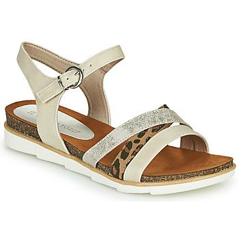 鞋子 女士 凉鞋 Marco Tozzi 2-28410 米色