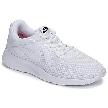 鞋子 女士 球鞋基本款 Nike 耐克 TANJUN 白色