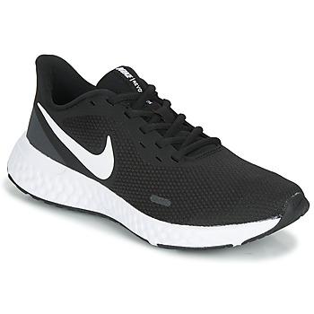 鞋子 女士 跑鞋 Nike 耐克 REVOLUTION 5 黑色 / 白色