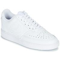 鞋子 女士 球鞋基本款 Nike 耐克 COURT VISION LOW 白色
