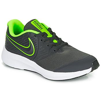 鞋子 男孩 多项运动 Nike 耐克 STAR RUNNER 2 GS 黑色 / 绿色