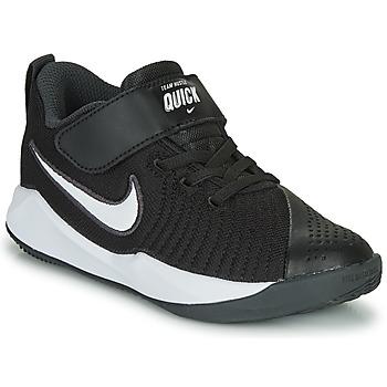 鞋子 儿童 多项运动 Nike 耐克 TEAM HUSTLE QUICK 2 PS 黑色 / 白色