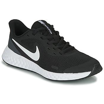 鞋子 儿童 多项运动 Nike 耐克 REVOLUTION 5 GS 黑色 / 白色