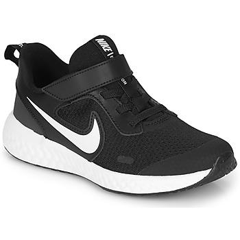 鞋子 儿童 多项运动 Nike 耐克 REVOLUTION 5 PS 黑色 / 白色