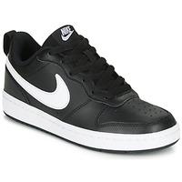 鞋子 儿童 球鞋基本款 Nike 耐克 COURT BOROUGH LOW 2 GS 黑色 / 白色