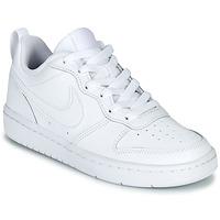 鞋子 儿童 球鞋基本款 Nike 耐克 COURT BOROUGH LOW 2 GS 白色