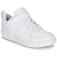 鞋子 兒童 球鞋基本款 Nike 耐克 COURT BOROUGH LOW 2 PS 白色