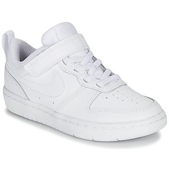 鞋子 儿童 球鞋基本款 Nike 耐克 COURT BOROUGH LOW 2 PS 白色