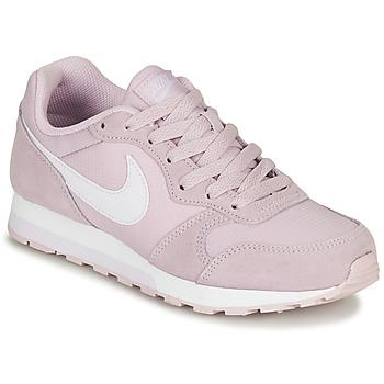 鞋子 女孩 球鞋基本款 Nike 耐克 MD RUNNER 2 PE GS 玫瑰色