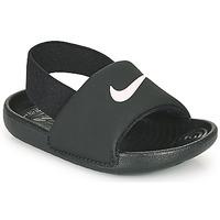 鞋子 儿童 凉鞋 Nike 耐克 KAWA TD 黑色