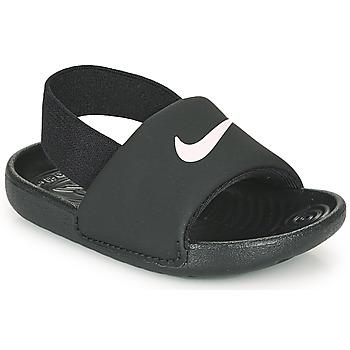 鞋子 儿童 拖鞋 Nike 耐克 KAWA TD 黑色