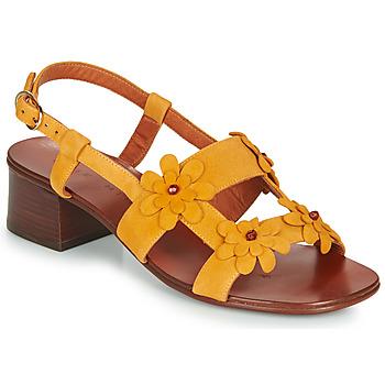 鞋子 女士 凉鞋 Chie Mihara QUESIA 黄色