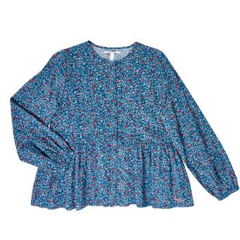 衣服 女孩 女士上衣/罩衫 Pepe jeans ISA 蓝色