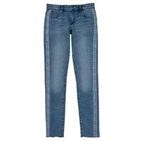 衣服 女孩 牛仔铅笔裤 Guess GABIN 蓝色