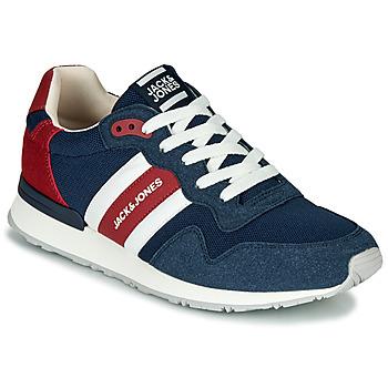 鞋子 男士 球鞋基本款 Jack & Jones 杰克琼斯 STELLAR MECH 海蓝色 / 红色