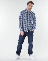 衣服 男士 直筒牛仔裤 Levi's 李维斯 502™ TAPER 蓝色