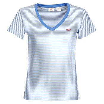 衣服 女士 短袖体恤 Levi's 李维斯 PERFECT VNECK 白色 / 蓝色