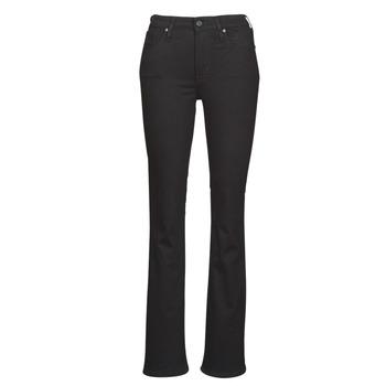 衣服 女士 喇叭牛仔裤 Levi's 李维斯 725 HIGH RISE BOOTCUT 黑色 / Sheep