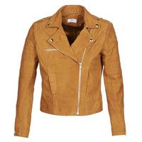 衣服 女士 皮夹克/ 人造皮革夹克 Betty London MOSTILI 棕色