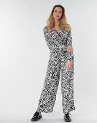 衣服 女士 连体衣/连体裤 Only ONLOPHELIA 黑色 / 白色