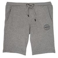 衣服 男孩 短裤&百慕大短裤 Jack & Jones 杰克琼斯 JJISHARK 灰色
