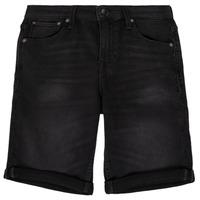 衣服 男孩 短裤&百慕大短裤 Jack & Jones 杰克琼斯 JJIRICK 黑色