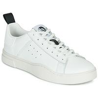 鞋子 男士 球鞋基本款 Diesel 迪赛尔 S-CLEVER LOW 白色