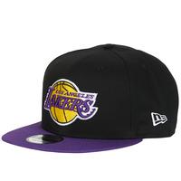 纺织配件 鸭舌帽 New-Era NBA 9FIFTY LOS ANGELES LAKERS 黑色 / 紫罗兰