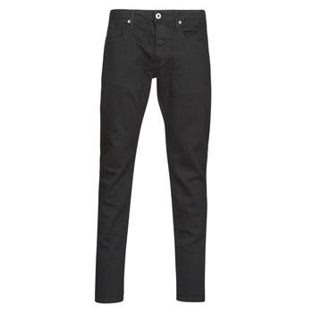 衣服 男士 紧身牛仔裤 G-Star Raw 3301 SLIM 黑色