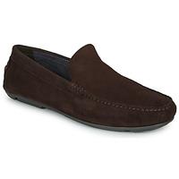 鞋子 男士 皮便鞋 André BIOUTY 棕色