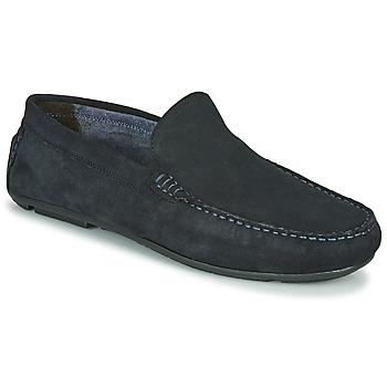 鞋子 男士 皮便鞋 André BIOUTY 海蓝色