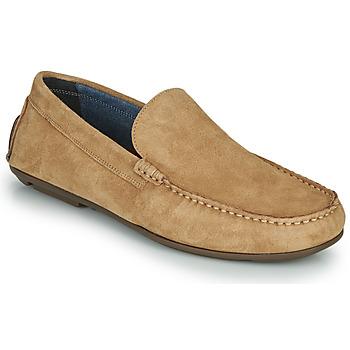 鞋子 男士 皮便鞋 André BIOUTY 米色