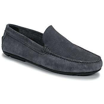鞋子 男士 皮便鞋 André BIOUTY 蓝色