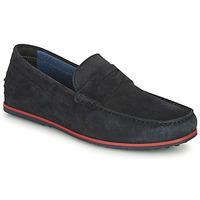 鞋子 男士 皮便鞋 André SKY 海蓝色